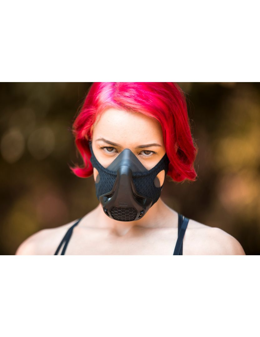 Omtex Fitness Mask - Black